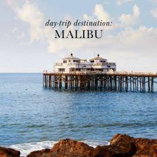 Drive up PCH to Malibu Pier